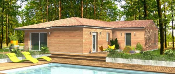 Maisons bois clairlande constructeur de maison for Constructeur de maison individuelle 32