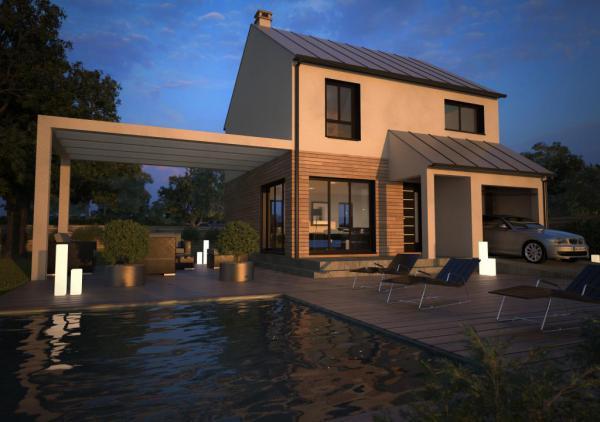 Maisons d 39 en france constructeur de maison individuelle for Constructeur maison contemporaine eure et loir