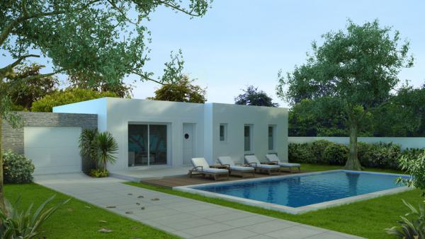 Art traditions mediterranee constructeur de maison for Constructeur maison contemporaine 64