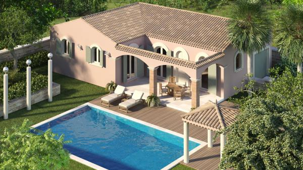Art traditions mediterranee constructeur de maison individuelle sur achat terrain - Maison de la mediterranee ...