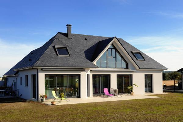 maisons sanz constructeur de maison individuelle sur. Black Bedroom Furniture Sets. Home Design Ideas