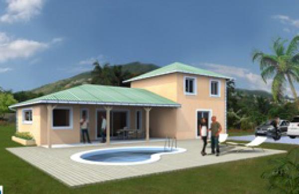 Maisons satec constructeur de maison individuelle sur for Achat de maison en guadeloupe