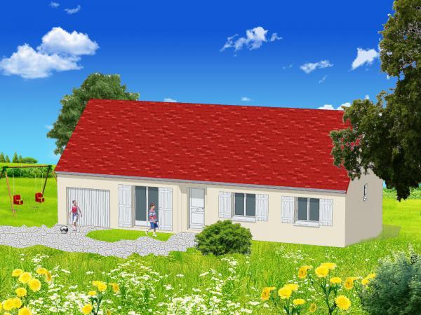 Les maisons terre de bourgogne constructeur de maison for Constructeur maison bourgogne