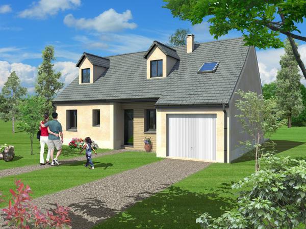 Saciel habitat constructeur de maison individuelle sur for Constructeur de maison individuelle chartres