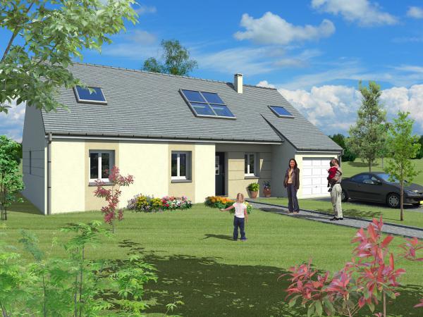 Saciel habitat constructeur de maison individuelle sur for Constructeur maison 28