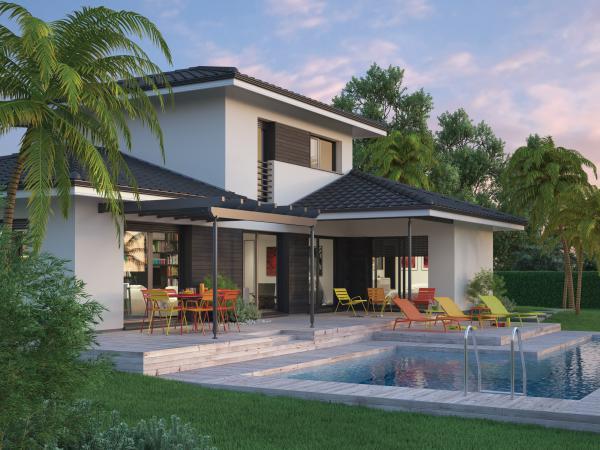 Couleur villas constructeur de maison individuelle sur for Villa constructeur