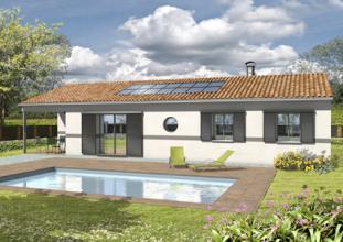 Modele Et Plan De Maison Adagio Avec Terrasse Couverte Par Le