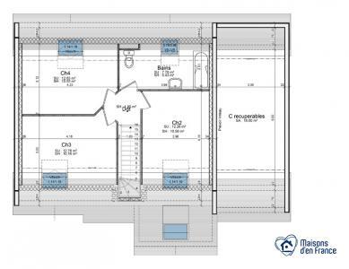 Mod le et plan de maison amazonite par le constructeur for Modele maison d en france