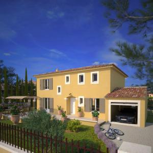 Mod le et plan de maison bastide 125 par le constructeur for Constructeur bastide