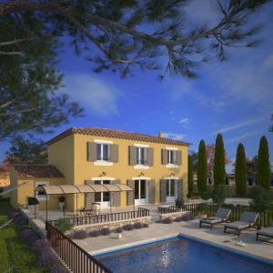 Mod le et plan de maison bastide 140 par le constructeur for Constructeur bastide