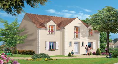 Mod le et plan de maison chevincourt par le constructeur for Les demeures traditionnelles
