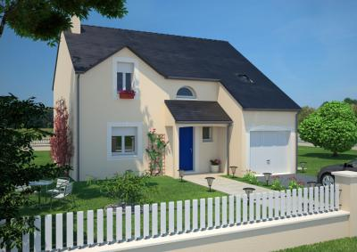 mod le et plan de maison city 130 g par le constructeur maisons france confort. Black Bedroom Furniture Sets. Home Design Ideas