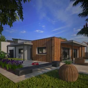 Mod le et plan de maison concept 2020 pp123 par le for Maison 2020