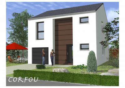 Mod le et plan de maison corfou par le constructeur for Modele maison horizon