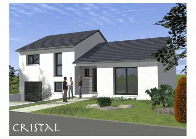 Mod le et plan de maison cristal c par le constructeur for Modele maison horizon
