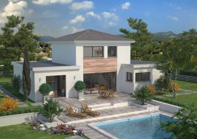 Mod le et plan de maison design par le constructeur for Modele maison design