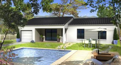mod le et plan de maison diana par le constructeur villas. Black Bedroom Furniture Sets. Home Design Ideas