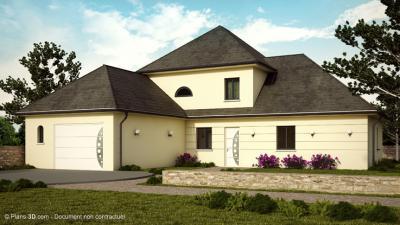 Mod le et plan de maison emeraude par le constructeur for Maison emeraude