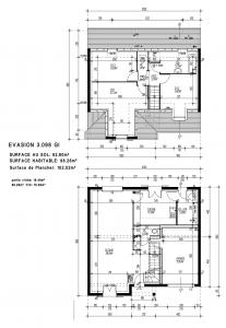 plan maison pierre