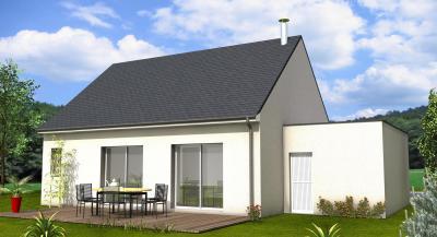 Mod le et plan de maison evolutive 66 par le constructeur for Constructeur maison 66