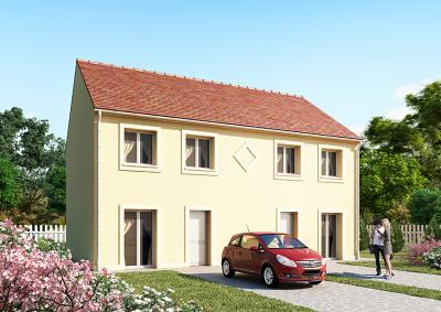 Mod le et plan de maison horizon 79 x 2 par le for Modele maison horizon