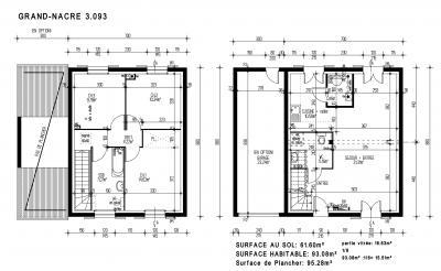 Plan maison pierre plan belle maison moderne with plan for Plan maison pierre