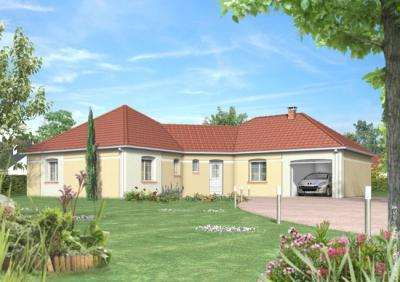 mod le et plan de maison lavande par le constructeur. Black Bedroom Furniture Sets. Home Design Ideas
