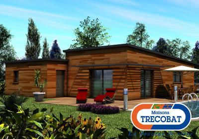 Mod le et plan de maison leuhanchou par le constructeur for Modele maison trecobat