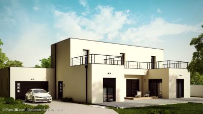 Mod le et plan de maison loft 2 par le constructeur for Modele maison loft
