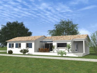 Mod le et plan de maison maison plain pied 4 chambres par for Achat maison plain pied