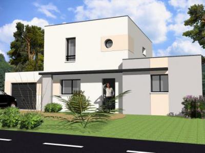 Mod le et plan de maison modula tage toit terrasse par le for Modele maison toit terrasse