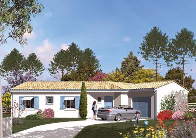 Mod le et plan de maison marennes par le constructeur for Achat maison marennes