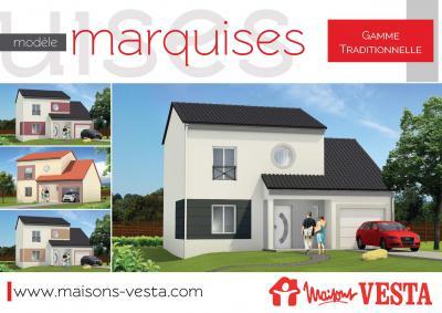 Mod le et plan de maison marquises par le constructeur for Modele maison vesta