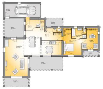 ... Modèle Et Plan De Maison : Mediterranée 170   170.00 M² ...