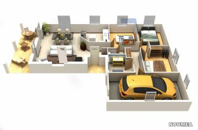Mod le et plan de maison noumea par le constructeur for Modele maison d en france