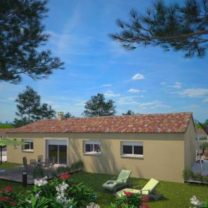 Mod le et plan de maison optima 103f par le constructeur for Maison optima