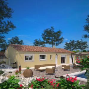 Mod le et plan de maison optima 113 par le constructeur for Constructeur maison confort
