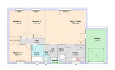 plan de maison mca