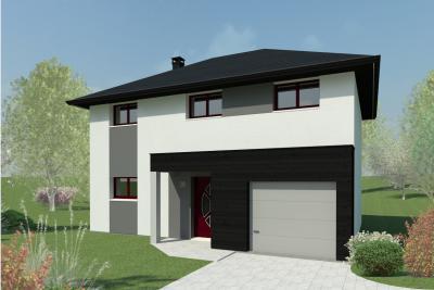 Mod le et plan de maison pc 28 par le constructeur habitat for Constructeur maison 28