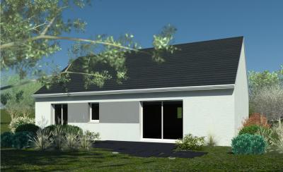 Modèle et plan de maison PC 90 par le constructeur HABITAT CONCEPT