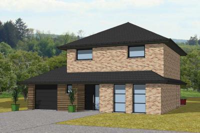Mod le et plan de maison r 1 par le constructeur arlogis nord for Liste de constructeur de maison