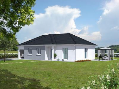 mod le et plan de maison rossignol par le constructeur. Black Bedroom Furniture Sets. Home Design Ideas