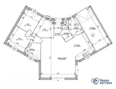 Mod le et plan de maison rubis par le constructeur maisons for Modele maison d en france